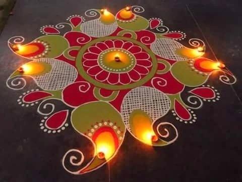 Rangoli Diwali Designs