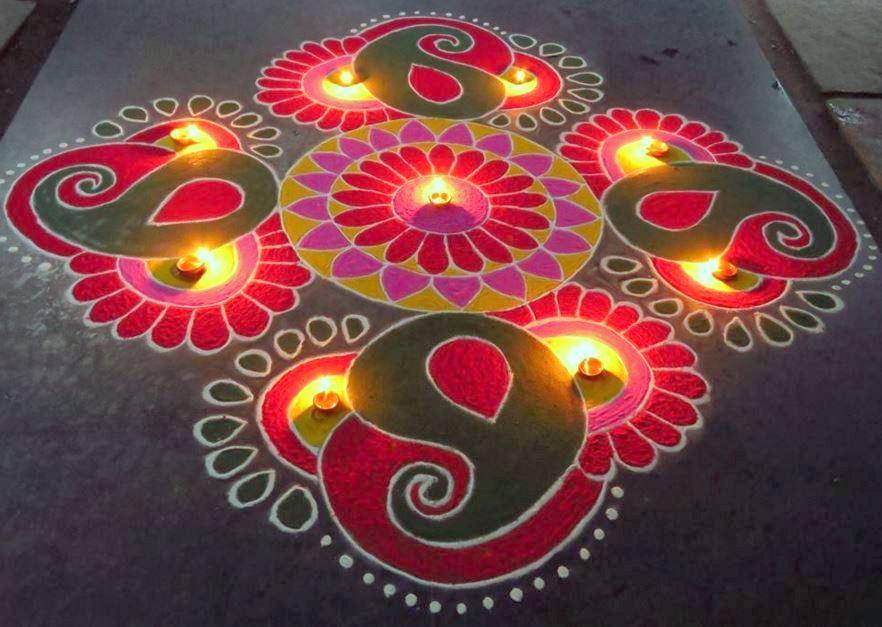 Diwali Special Rangoli Designs