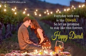 Diwali Wishes For Lover with Image