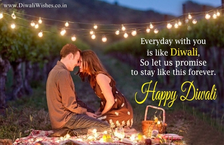 Romantic happy diwali wishes for lover 2017 cute love sms for gf bf diwali wishes for lover with image m4hsunfo