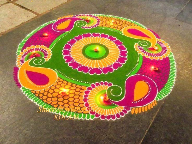 The gallery for --> Beautiful Rangoli Designs For Diwali