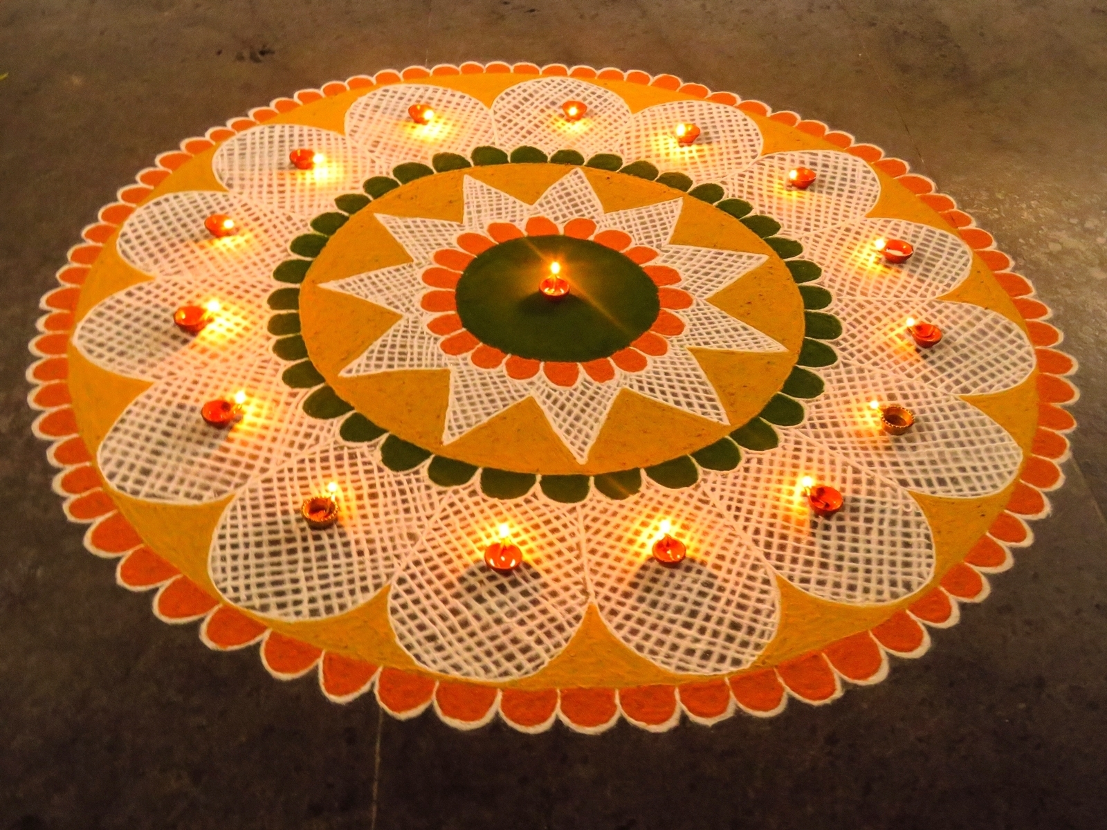 Best Rangoli Designs For Diwali Competition