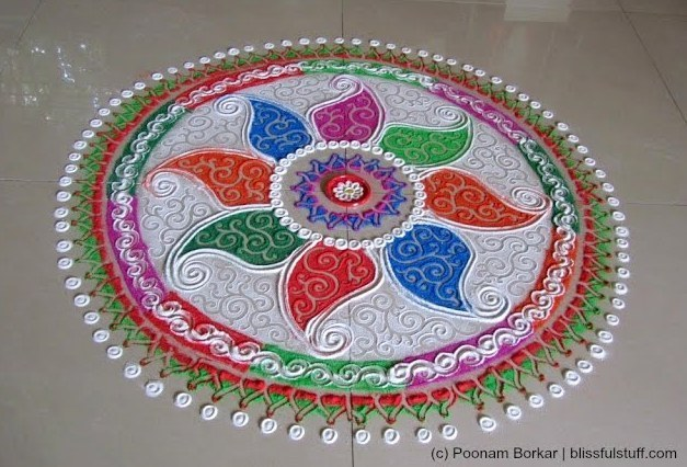 Rangoli Designs For Diwali Celebration