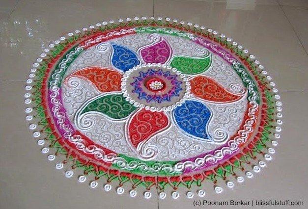 Rangoli Designs For Diwali Celebration