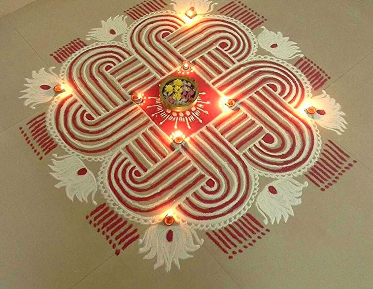 Beautiful Rangoli Designs For Diwali Festival