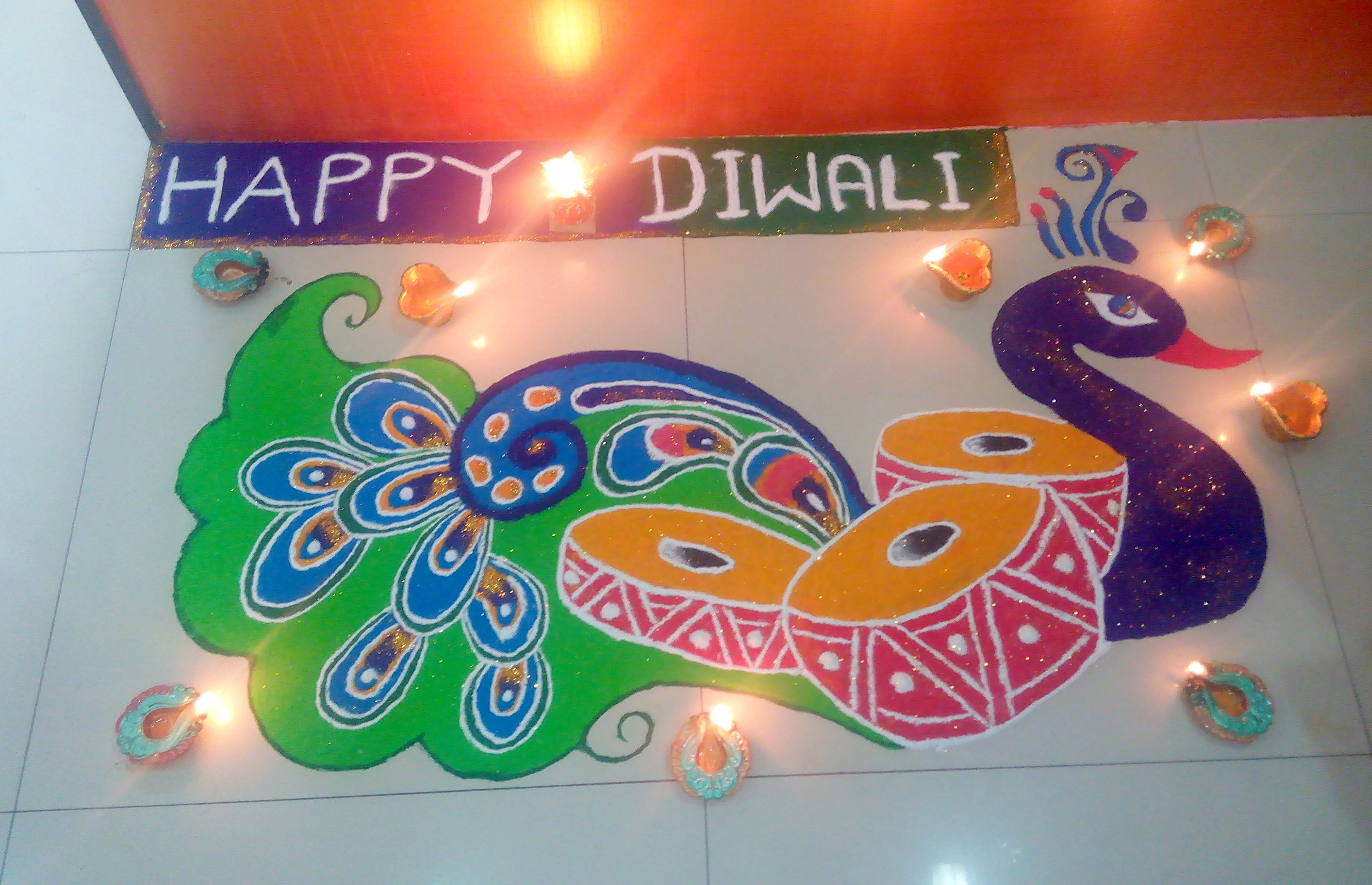 Rangoli Designs For Diwali 2016