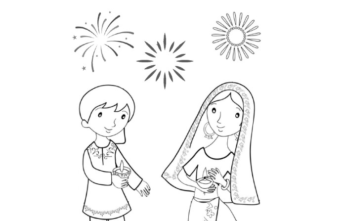 Diwali Pictures to Print