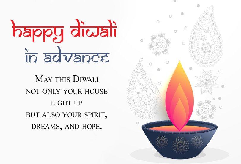 Happy Diwali Advance Wishes