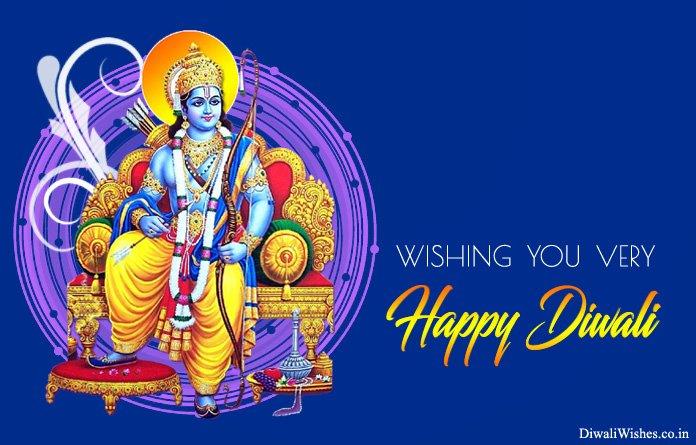 Happy Diwali Bhagwan Photo