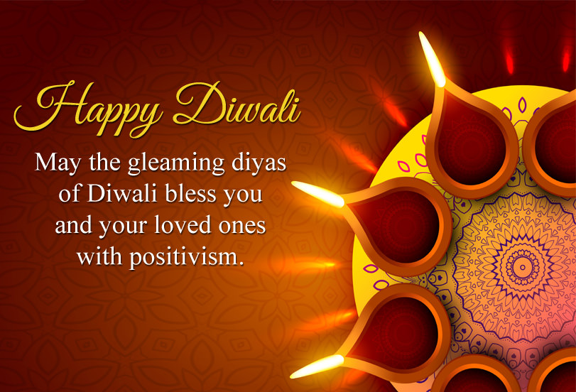 Diwali Blessing Quotes Image