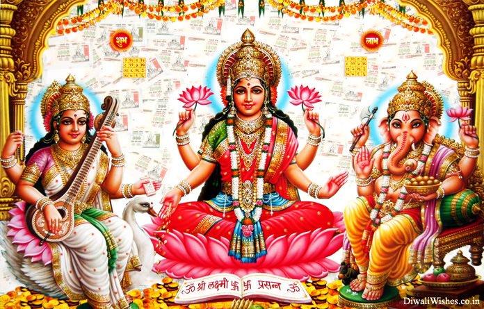 Happy Diwali God Images