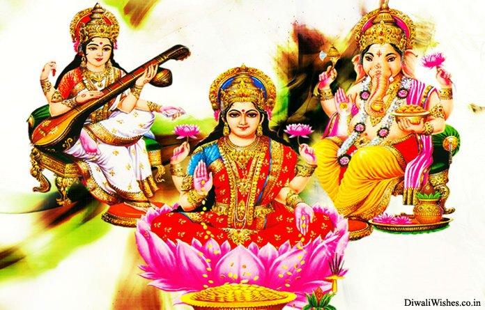 Laxmi Ji Ganesh Ji Saraswati Ji Images