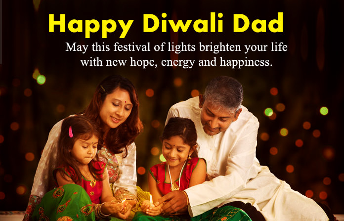 Diwali Wishes for Father