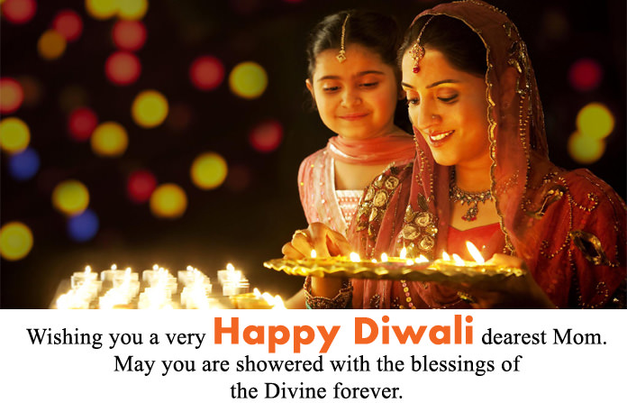 Diwali Wishes for Mother