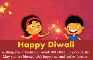 Diwali Wishes for Sister